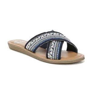 FERGALICIOUS | Starlit Studded Sandal BlueMulti 10